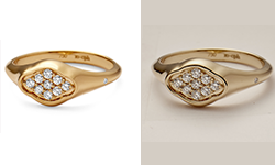 High End Jewelry Image Retouching